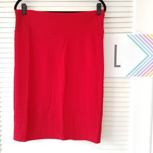 Cassie Skirt-Red